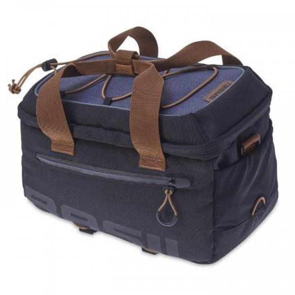 BASIL Gepäckträgertasche Miles Trunkbag dunkelgrau | Für MIK System