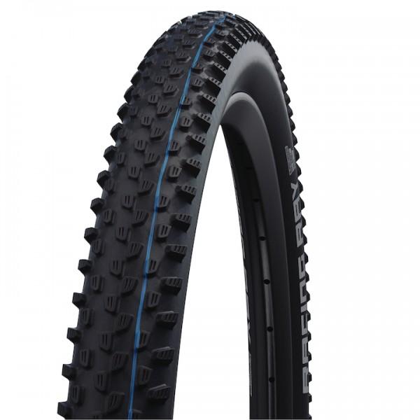 SCHWALBE Fahrradreifen Racing Ray ADDIX HS 489 27,5 Zoll | ETRTO: 57-584 | Falt | SnakeSkin | schwar