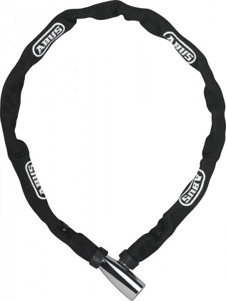 ABUS Kettenschloss 1500 web schwarz | Länge: 1100 mm | Durchmesser: 4 mm