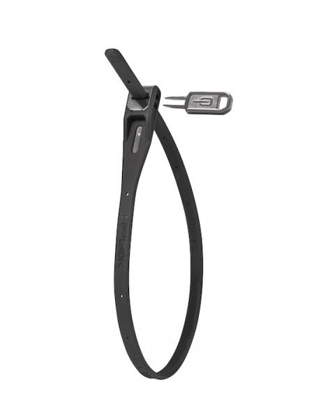 HIPLOK Kabelschloss Z-Lok Single schwarz   Länge: 400 mm   inkl. Universalschlüssel