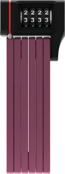 ABUS Fahrradschloss Faltschloss uGrip BORDO? 5700/80C core purple SH