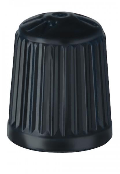 ALLIGATOR Staubkappe für Dunlopventil Kunststoff | DV | Montageverpackung | schwarz