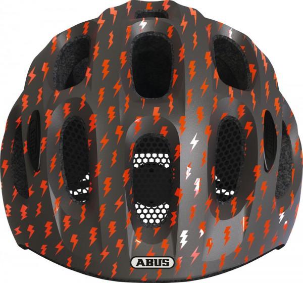 ABUS Fahrradhelm Youn-I grey lightning S