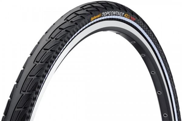 Continental Fahrradreifen Top Contact II schwarz Reflex 37-622 28 x 1 3/8 x 1 5/8 0100441 faltbar,s