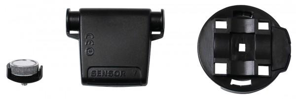 CICLOSPORT Lenkerhalter-Set Protos Drahtlosmodelle schwarz