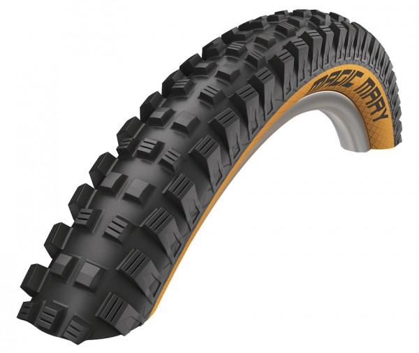 SCHWALBE Fahrradreifen Magic Mary ADDIX HS 447 27,5 Zoll | ETRTO: 60-584 | Falt | SnakeSkin | ADDIX