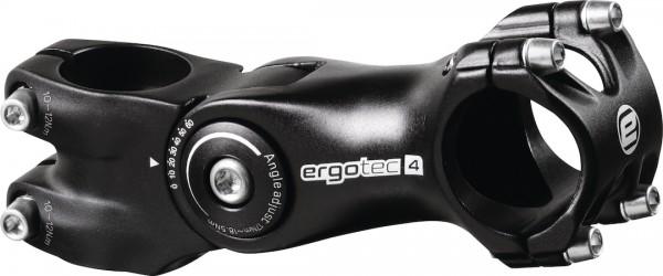 ERGOTEC Ahead-Vorbau Octopus 2 Alu Lenkerklemmdurchmesser: 25,4 mm | Auslage: 105 mm | schwarz-sandg