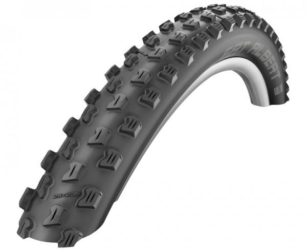 SCHWALBE Fahrradreifen Fat Albert Front HS 477 27,5 Zoll | ETRTO: 60-584 | Falt | SnakeSkin | schwar