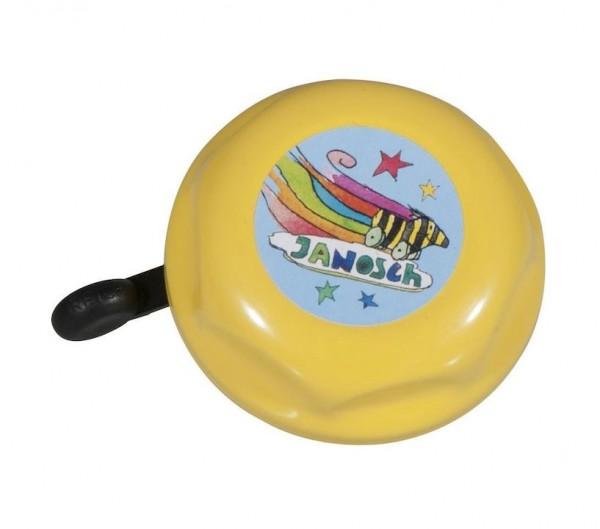 BIKE FASHION Kinder-Glocke Janosch Tigerente farblich sortiert | Motiv: Janosch Tigerente | Durchmes