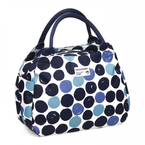 New Looxs Handtasche Tosca Midi Dots blau blau