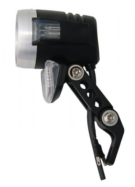 AXA Dynamo-Scheinwerfer Blueline 50 Switch Befestigung: Gabelkrone | schwarz | An-/Ausschalter: Ja |