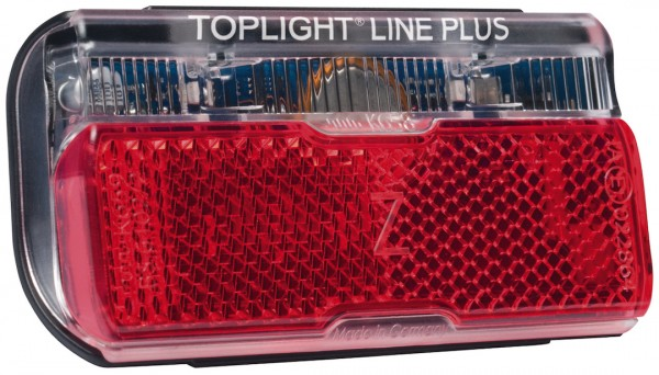 B&M LED E-Bike Rücklicht Toplight Line Befestigung: Gepäckträger | Montageverpackung | Bolzenabstand
