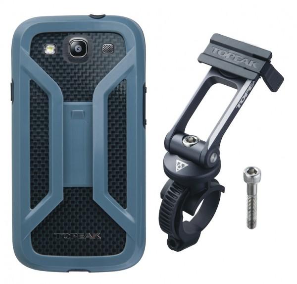 TOPEAK Smartphone Ride Case Maße: 14,1 x 7,5 x 1,6 cm | Samsung Galaxy S3 | schwarz
