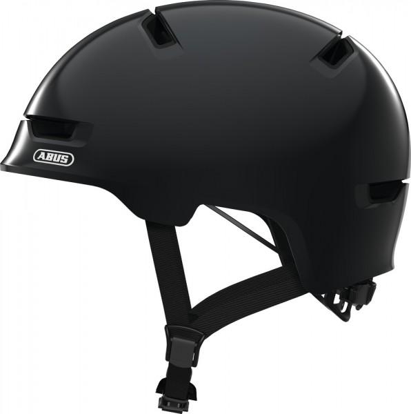 ABUS Fahrradhelm Scraper 3.0 Kid shiny black S