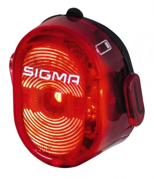 SIGMA LED Akkurücklicht Nugget II USB inkl. Micro-USB-Ladekabel | schwarz