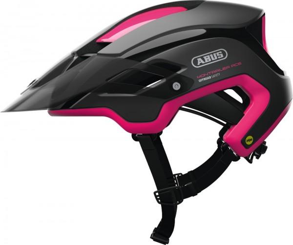 ABUS Fahrradhelm MonTrailer MIPS fuchsia pink M