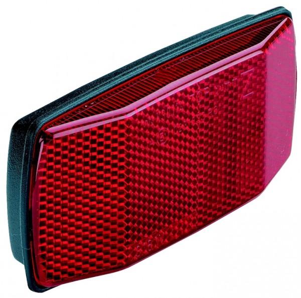 B&M Rückreflektor Gepäckträger rot | Weitwinkelreflexion