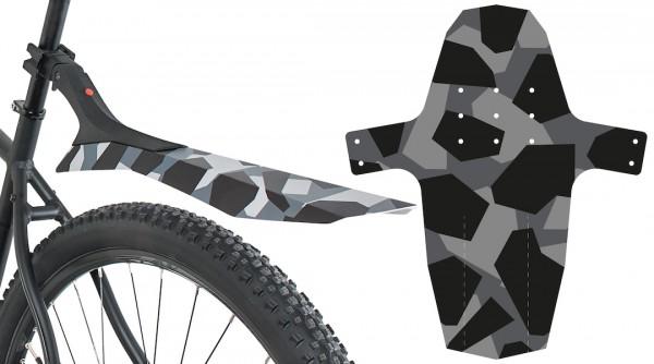 HEBIE Spritzschutz-Set SWAP Set Camouflage | Laufradgröße: 26 - 29 Zoll