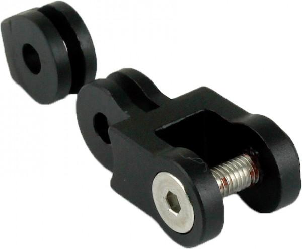 BY.SCHULZ SDS Adapter schwarz-matt | 10mm M5 | für SDS Frontkappe, SDS Link Art.Nr.17643 | 10mm M5