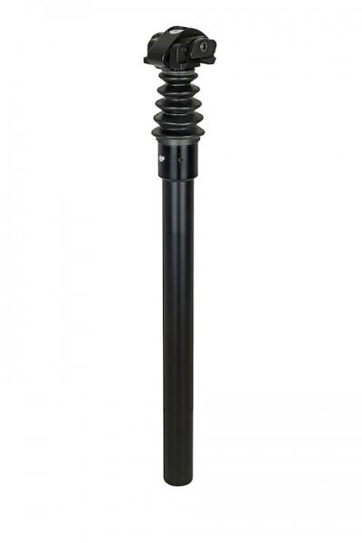 AIRWINGS Federsattelstütze Expleto Sport schwarz |Länge: 425 mm | Durchmesser: 25,4 mm | Max. Belast