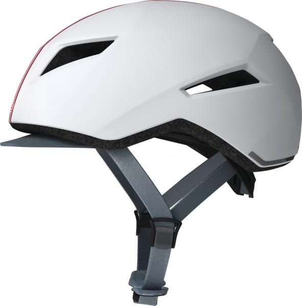 ABUS Fahrradhelm Yadd-I streak white S Kopfumfang [cm] 51-55