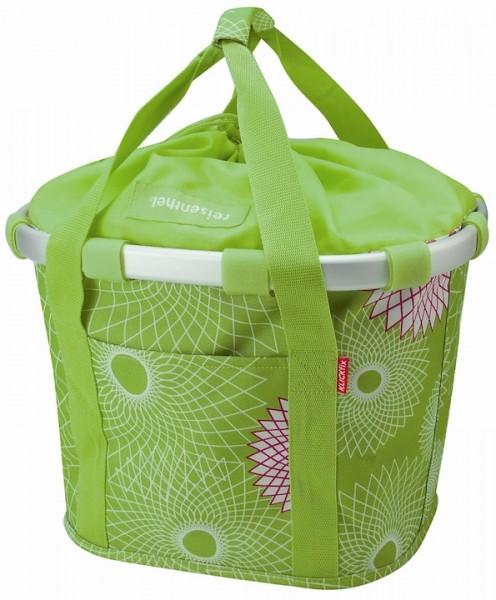 REISENTHEL Bikebasket Befestigung: Klickfix   crystals lime green