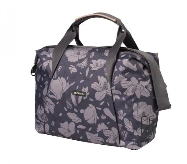 BASIL Schultertasche Magnolia Carry All Bag Befestigung: Hook-On System | blackberry