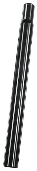 ERGOTEC Kerzensattelstütze Alu schwarz   Durchmesser: 27,2 mm   SB-Verpackung