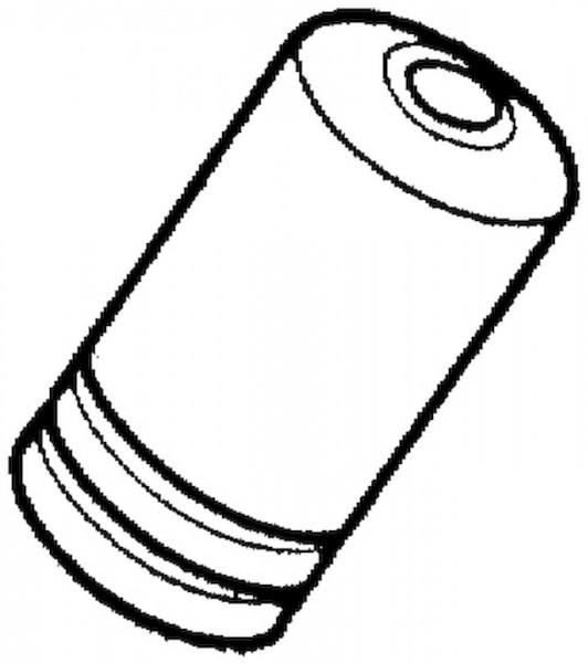 SHIMANO Endkappe Außenhülle Kunststoff | Für Schaltzug Standard