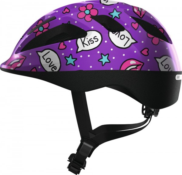 ABUS Fahrradhelm Smooty 2.0 purple kisses M