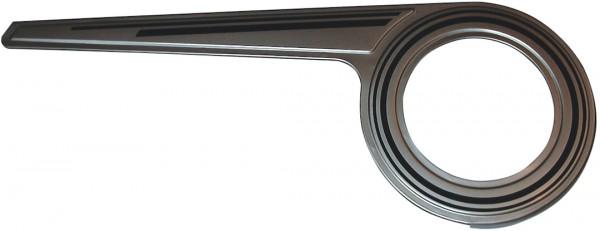 HORN Kettenschutz SL 23 Alu Kompatibilität: 46 Zähne | 1-fach | silber poliert