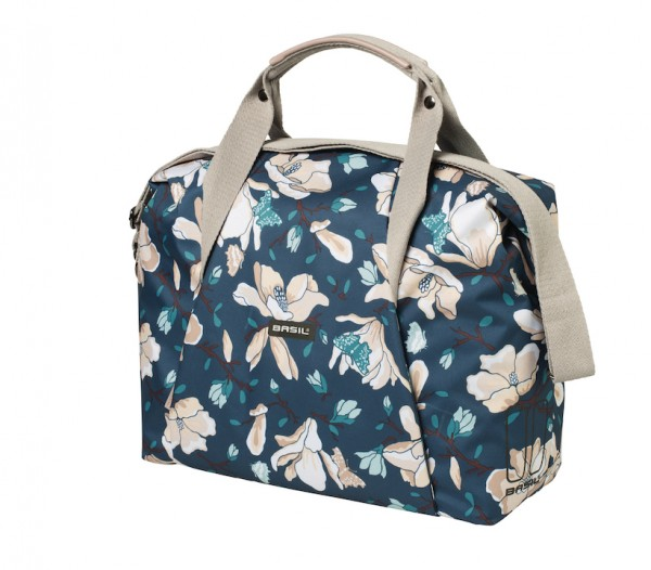 BASIL Schultertasche Magnolia Carry All Bag Befestigung: Hook-On System | teal blue