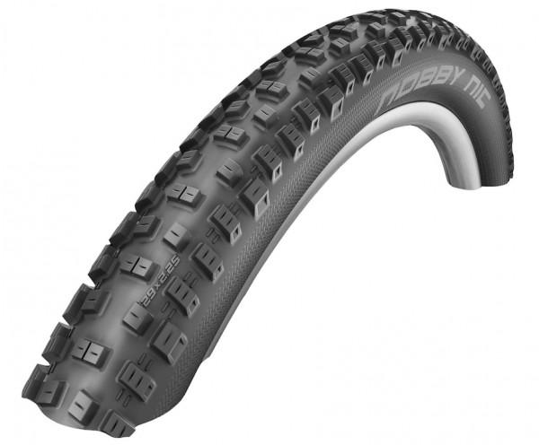 SCHWALBE Fahrradreifen Nobby Nic HS 463 27,5 Zoll | ETRTO: 57-584 | Draht | LiteSkin | schwarz Skin