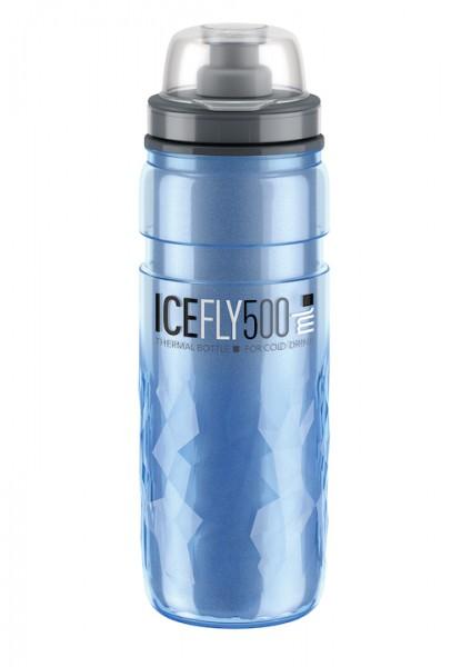 ELITE Thermo Trinkflasche Ice Fly Inhalt: 500 ml   blau