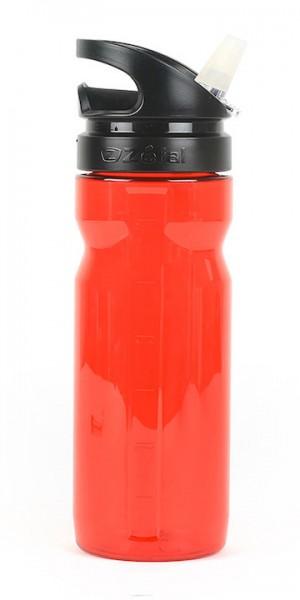 ZÉFAL Trinkflasche Trekking 700 Inhalt: 700 ml   rot transparent