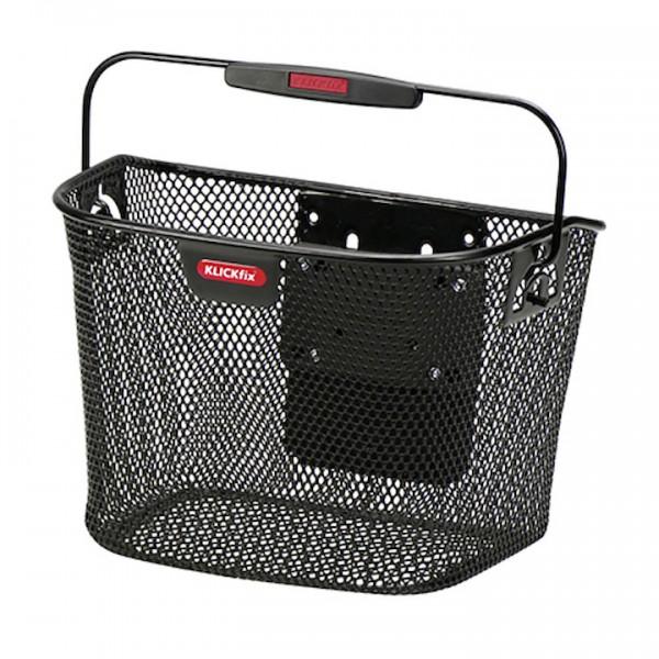 KLICKFIX VR-Korb Mini Befestigung: Klickfix | schwarz | Für Kinderrad