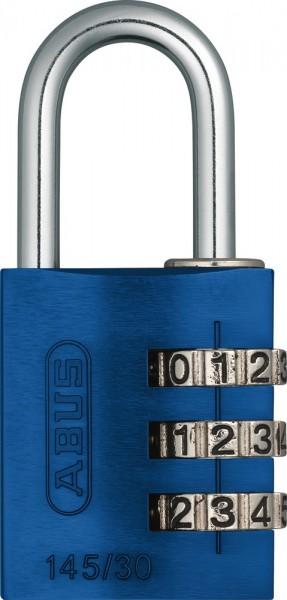 ABUS Fahrradschloss Zahlenschloss 145/30 blau B/DFNLI