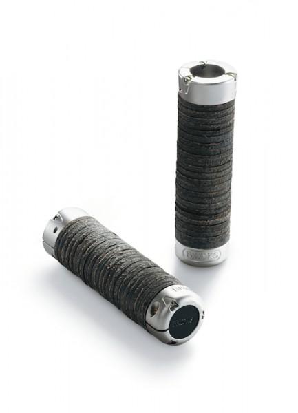 Brooks Lenkergriff Plump Leder schwarz 130/130 mm schwarz,130/130 mm,Leder,BLG2 A27202