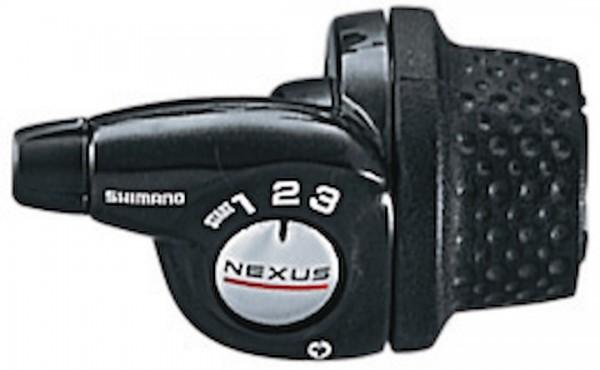 SHIMANO Drehgriffschalter Nexus SL3S35 Schaltstufen: links 3-fach | Länge Innenzug: 2200 / 2000 mm |