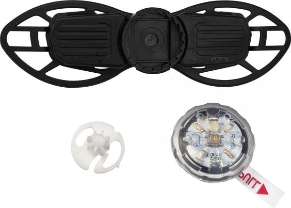 ABUS Fahrradhelm Verstellsystem Zoom Slim LED