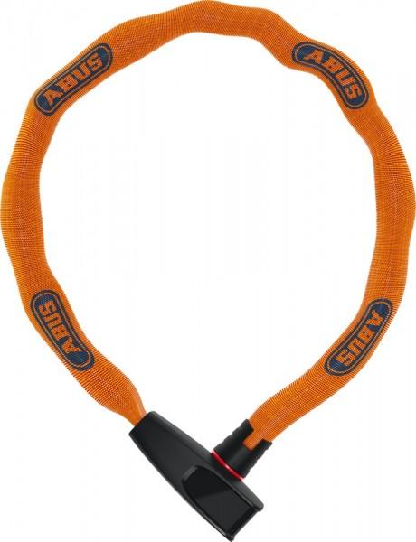 ABUS Fahrradschloss KETTENSCHLOSS Catena 6806K/75 Neon orange