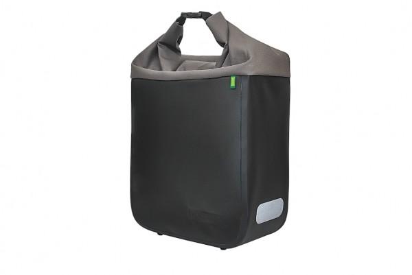 RACKTIME Racktime Einzeltasche Donna Befestigung: Haken | onyxschwarz/basaltgrau