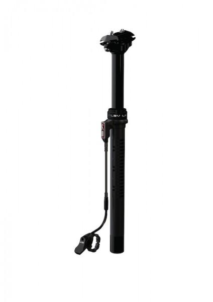 KIND SHOCK Sattelstütze LEV Remote 272 schwarz | Durchmesser: 27,2 mm | SB-Verpackung