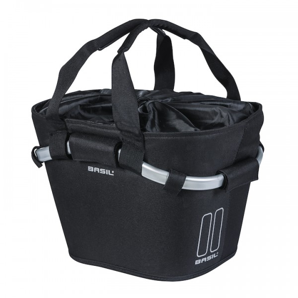BASIL Front Basket Carry All Classic schwarz