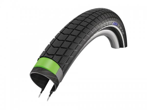 SCHWALBE Fahrradreifen Big Ben Plus HS 439 27,5 Zoll | ETRTO: 50-584 | Draht | SnakeSkin | schwarz R