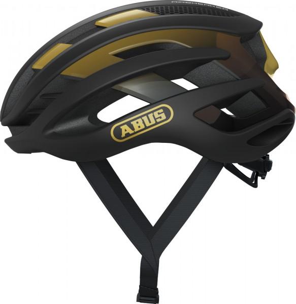ABUS Fahrradhelm AirBreaker black gold L