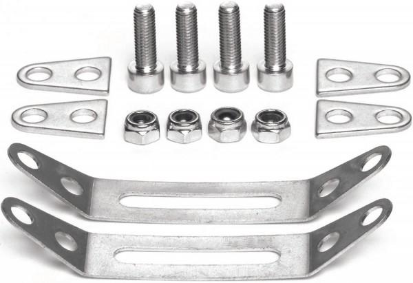 TUBUS Schellen-Adapterset Für HR Gepäckträger   Durchmesser: 18 - 19 mm