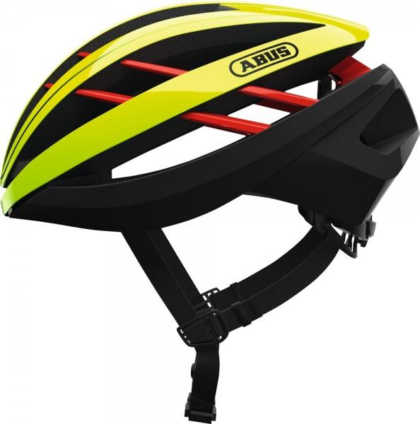 ABUS Fahrradhelm Aventor neon yellow S