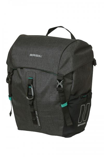 BASIL Einzeltasche Discovery 365D Befestigung: Hook-On System | schwarz melee