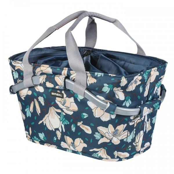 BASIL HR-Basket Carry All Magnolia Befestigung: MIK Adapterplatte | teal blue